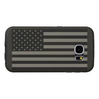 American Flag Camo Samsung Galaxy S6 Cases