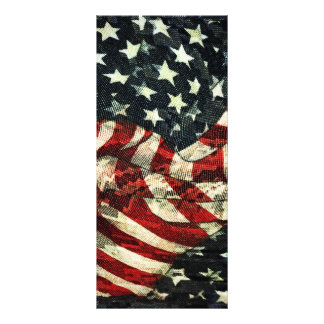 American Flag-Camoflouge by Shirley Taylor Personalized Rack Card