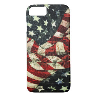 American Flag-Camouflage by Shirley Taylor iPhone 8/7 Case