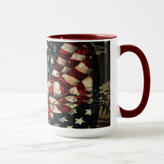 American Flag-Camouflage by Shirley Taylor Mug