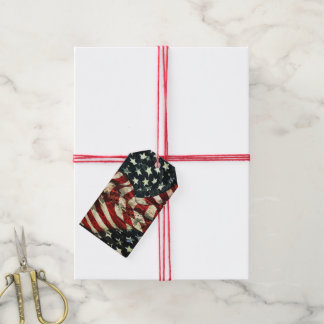 American Flag-Camouflage by Shirley Taylor Pack Of Gift Tags