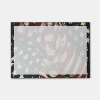 American Flag-Camouflage Post-it Notes
