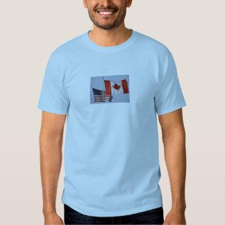 AMERICAN FLAG / CANADIAN FLAG TEES