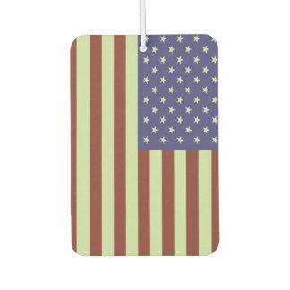 American Flag Car Air Freshener