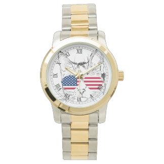 American Flag Cat watch