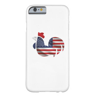 American Flag Chicken Funny Pet Lover Gifts Barely There iPhone 6 Case