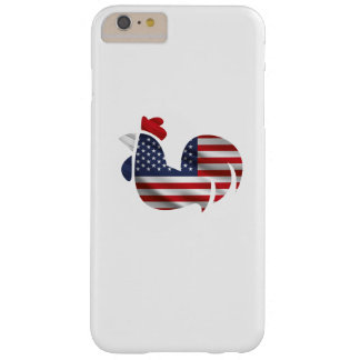 American Flag Chicken Funny Pet Lover Gifts Barely There iPhone 6 Plus Case