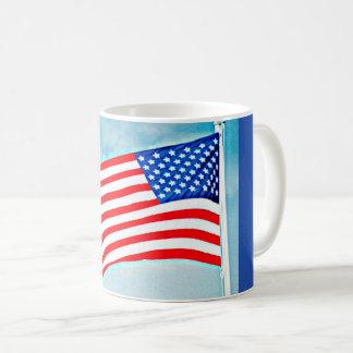American Flag Classic Coffee Mug