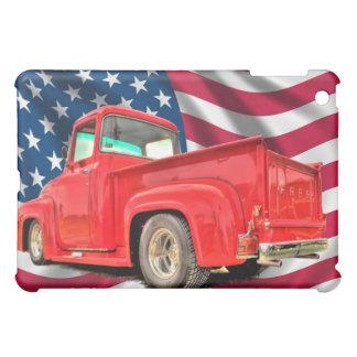 American Flag Classic Truck iPad Skins Cover For The iPad Mini