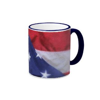 American Flag Coffee Mug
