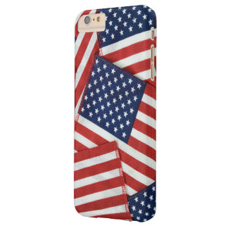 American flag collage barely there iPhone 6 plus case