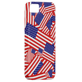 American Flag Collage iPhone 5 Cover