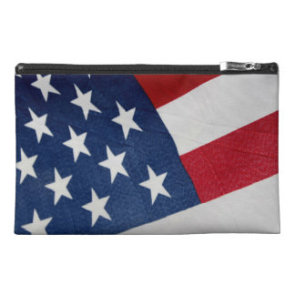 American Flag Cosmetic Bag