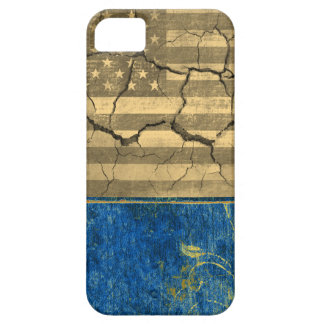 American flag cracked iPhone 5 case