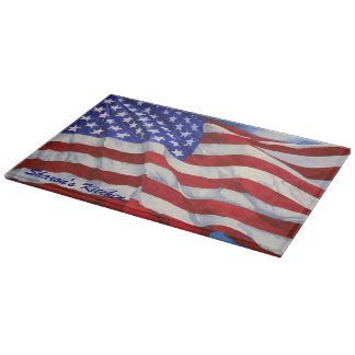 American Flag - Cutting Board
