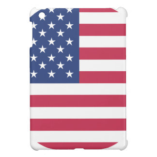 american-flag design circle design case for the iPad mini