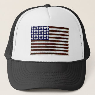 American Flag Design from Logobro.com Trucker Hat