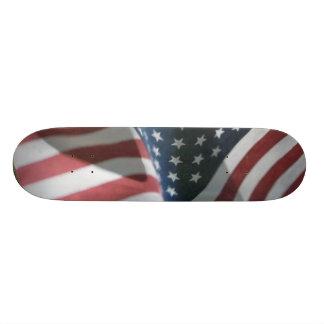 American Flag Design Skateboard