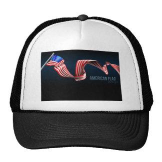 American Flag Design Trucker Hat