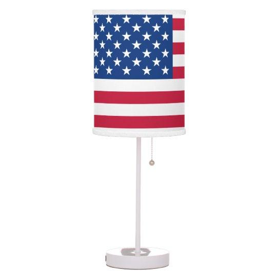 American Flag Desk Lamp