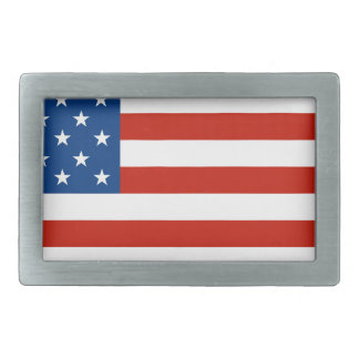 American Flag Distressed Belt Buckles