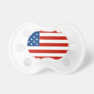 American Flag Distressed Pacifiers