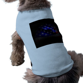 American Flag Doggie T-shirt
