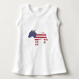 """American Flag"" Donkey Dress"