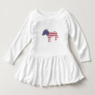 """American Flag"" Donkey Dress"