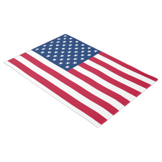 "American Flag Door Mat 24"" x 36"""