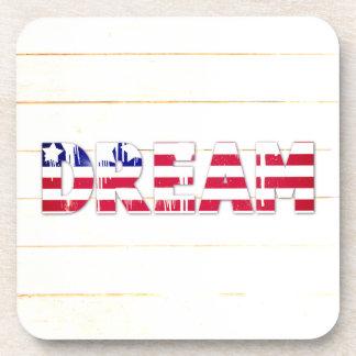American Flag Dream Coaster