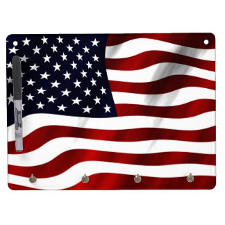 American Flag Dry-Erase Whiteboards