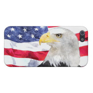 AMERICAN FLAG & EAGLE iPhone 5/5S CASE