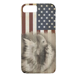 American Flag & Eagle iPhone 8/7 Case