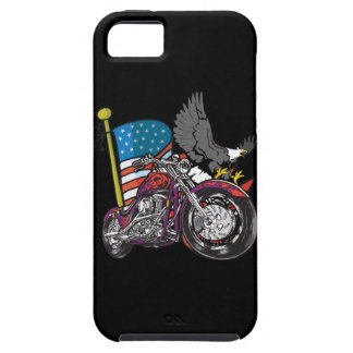 American Flag Eagle Motorcycle iPhone4 Case iPhone 5 Cases
