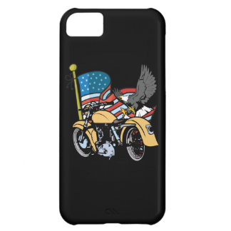 American Flag Eagle Motorcycle iPhone4 Case iPhone 5C Cover