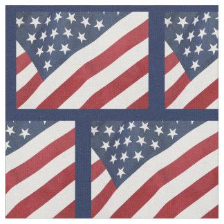 American Flag Fabric