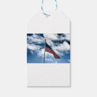 American Flag Gift Tag