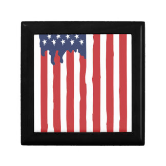American Flag Graffiti Usa United Gift Box