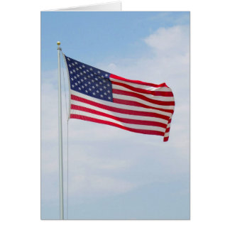 American Flag Greeting or Notecard  #2