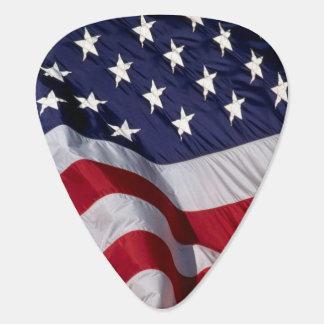 American Flag Guitar Pick