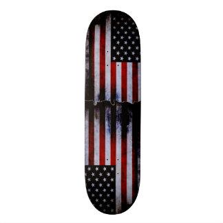 American Flag Grunge Custom Pro Slider Board Skate Decks