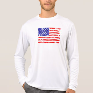 American Flag Grunge Shirt