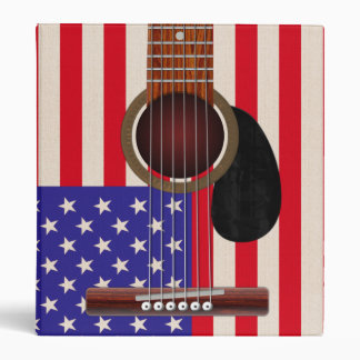 American Flag Guitar Binders