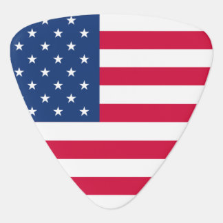 American Flag Guitar Pick