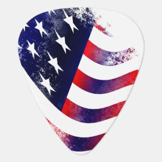 American flag guitar picks