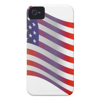 American Flag Illustration iPhone 4 Cases