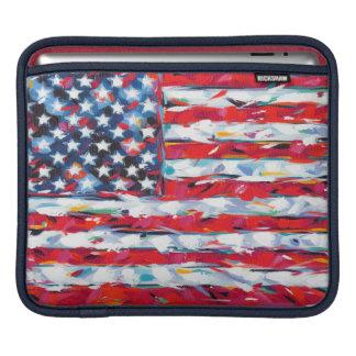 American Flag iPad Sleeve