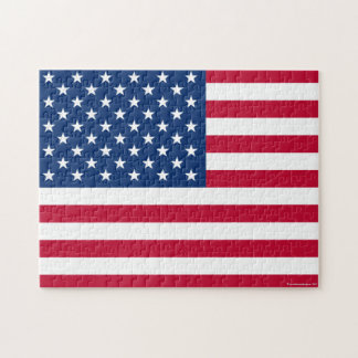 American Flag Jigsaw Puzzle