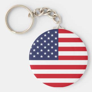 American flag keychain